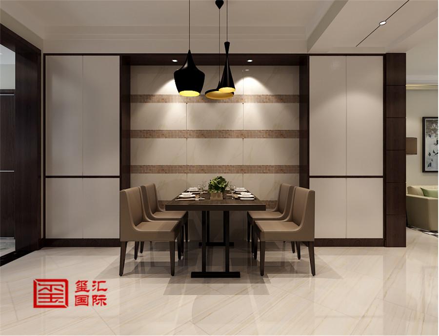 三居 玺汇国际 现代 餐厅图片来自河北玺汇国际装饰公司在135平卓达明郡现代风格的分享