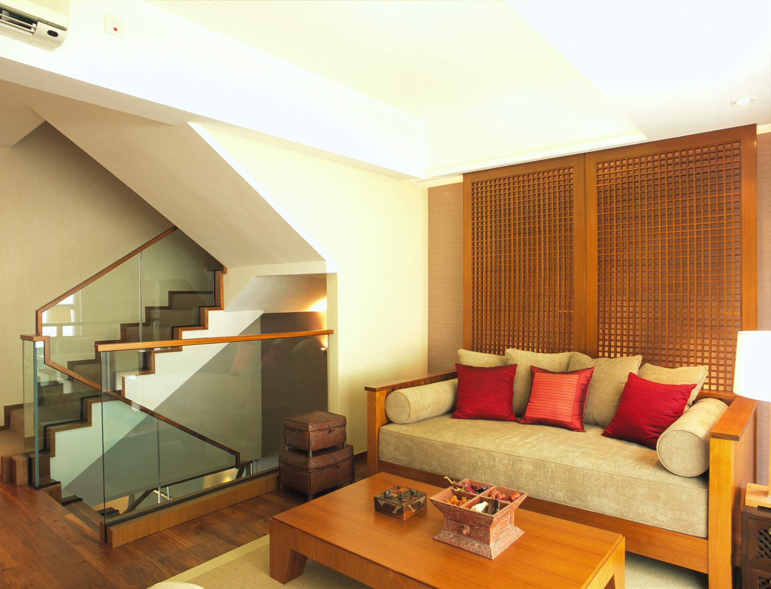 别墅 黄村别墅 大户型装修 小资 东南亚风格 客厅图片来自爱尚易格装饰在东南亚风格别墅装修的分享