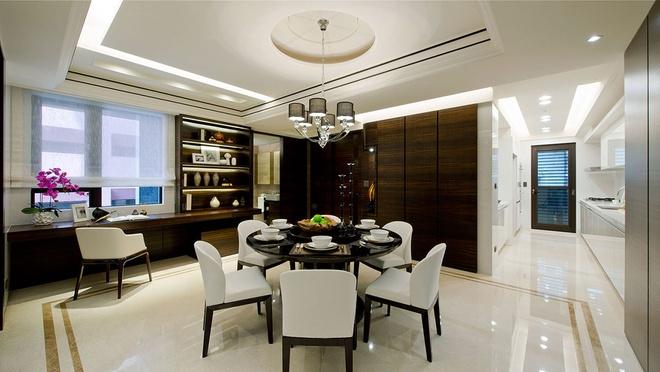 三居 中式风格 收纳 旧房改造 80后 餐厅图片来自爱尚易格装饰在新中式设计装修的分享
