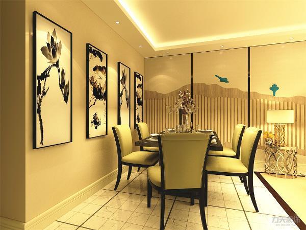 餐厅比客厅更为靠里,所以在采光上缺少自然光,需要在后期设计时人为的增加光源。整体房屋构造舒适。