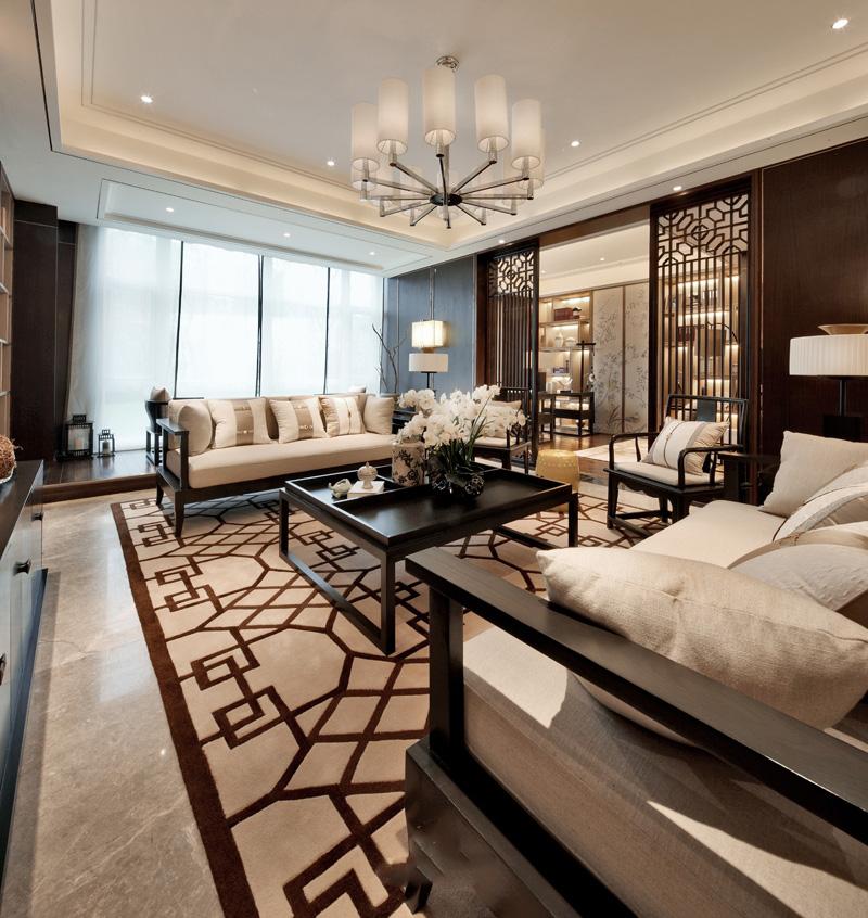 三居 新中式风格 旧房改造 爱尚易格 装饰装修 客厅图片来自爱尚易格装饰在爱尚易格新中式风格装修设计的分享