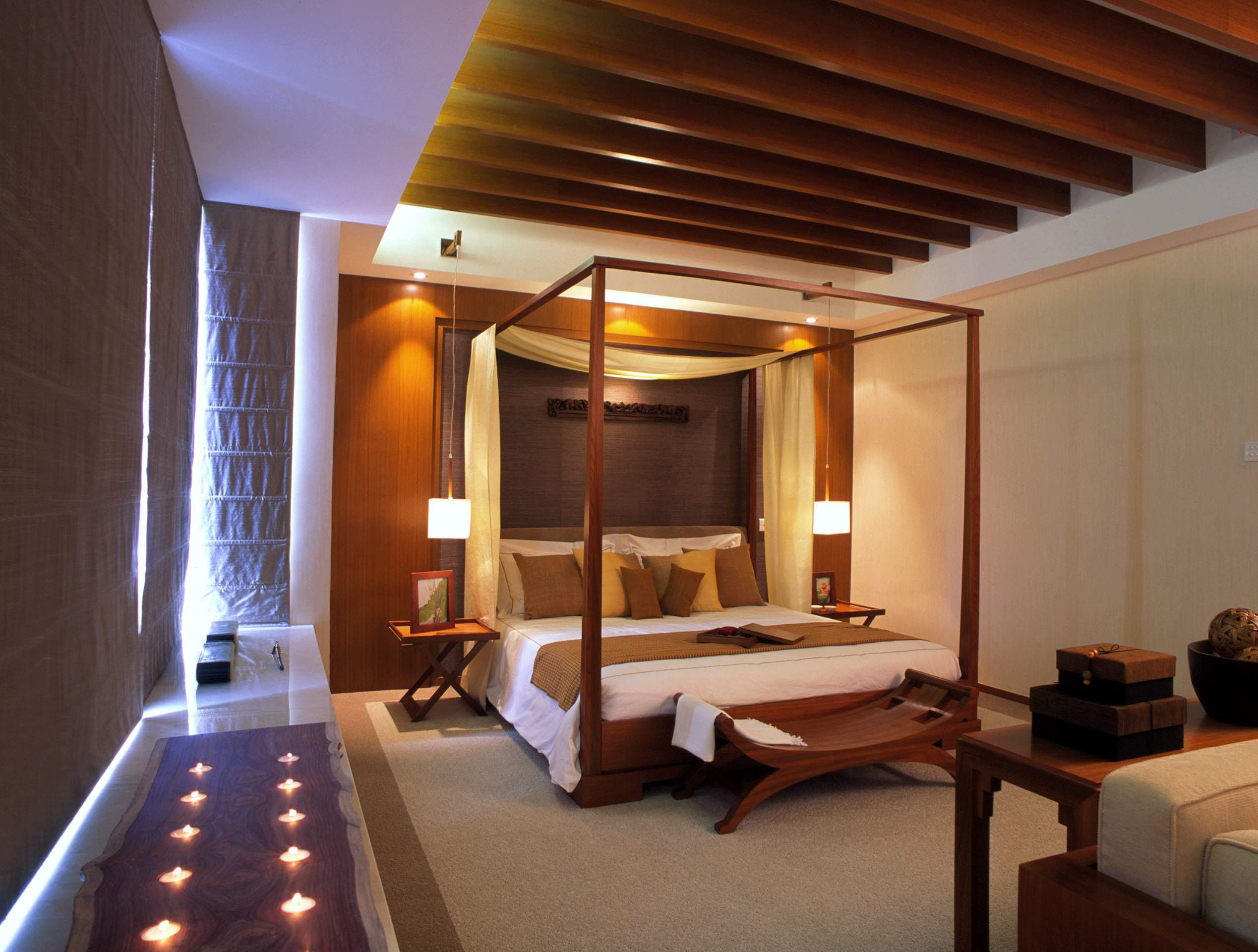 别墅 黄村别墅 大户型装修 小资 东南亚风格 卧室图片来自爱尚易格装饰在东南亚风格别墅装修的分享