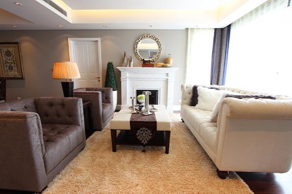欧式 大户型装修 北京装修 欧式风格 装饰装修 客厅图片来自爱尚易格装饰在欧式风格装修效果的分享