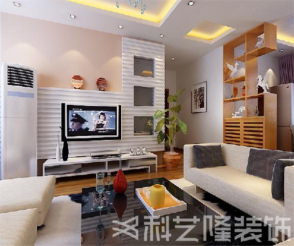 装修中极简便是让空间看上去非常简洁,大气。