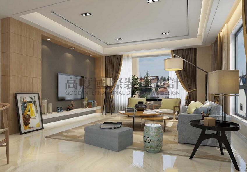 欧式 收纳 小资 客厅图片来自成都高度国际在【高清】因特拉肯 别墅装修设计的分享