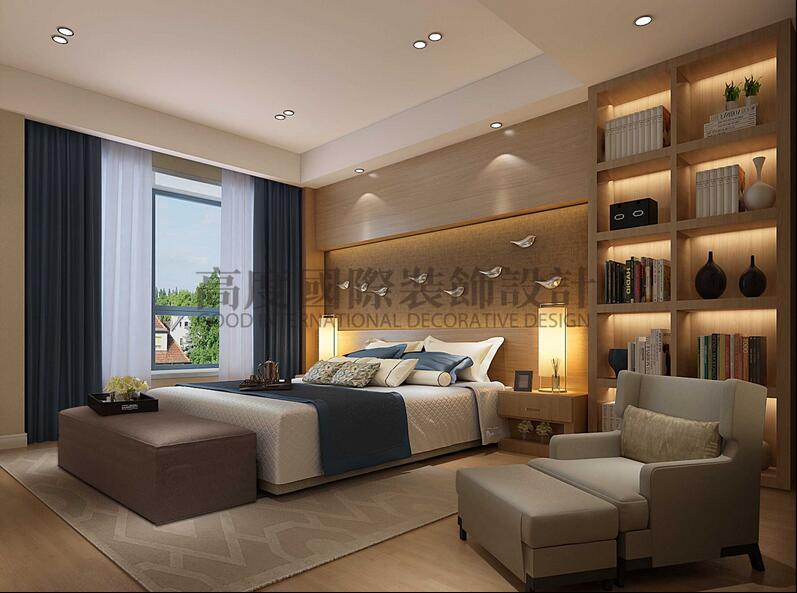 欧式 收纳 小资 卧室图片来自成都高度国际在【高清】因特拉肯 别墅装修设计的分享