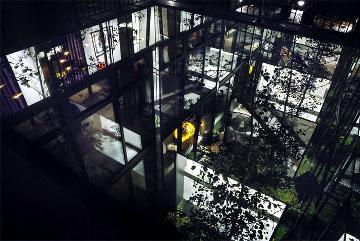 仓库改造的现代别墅设计