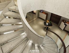 别墅 简约 现代 港式 楼梯图片来自澳华装饰有限公司在武汉天地·都市新贵的华丽晋级的分享