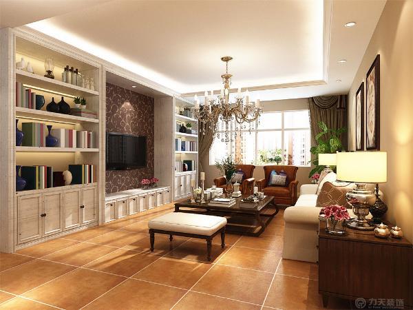 电视背景墙做成白色有储物功能的橱柜增加了储物空间增加了文化气息又搭配浅色沙发整体又有了晋升感卧室同样选择了和客厅类似的白色储物柜电视墙,