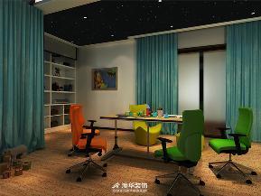 别墅 简约 现代 港式 书房图片来自澳华装饰有限公司在武汉天地·都市新贵的华丽晋级的分享