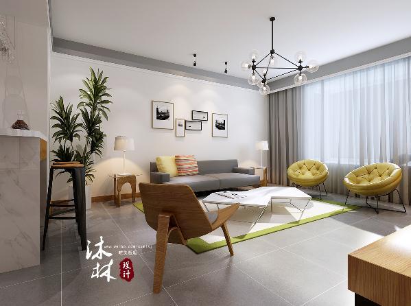 现代北欧风格,摈弃浮华的线条和装饰,还原材质的本来美感,优美简洁的线条,自然明快的色彩,简洁实用的家具;给人一种舒适的感觉