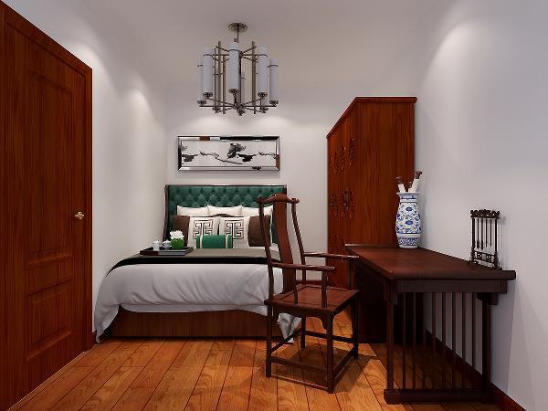 空间装饰采用简洁、硬朗的直线条,有些家庭还会采用具有西方工业设计色彩的板式家具与中式风格的家具搭配使用