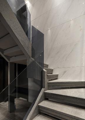 简约 小资 80后 三居 设计 家装 设计公司 年轻 现代 楼梯图片来自翼森设计在现代简约的分享