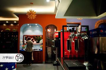 创意咖啡店—白领休闲