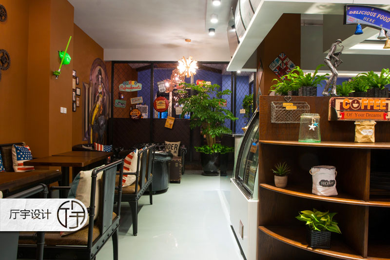 80后 白领 田园 欧式 简约 旧房改造 其他图片来自厅宇设计在创意咖啡店—白领休闲的分享