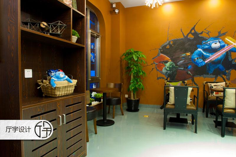 80后 白领 田园 欧式 简约 旧房改造 餐厅图片来自厅宇设计在创意咖啡店—白领休闲的分享