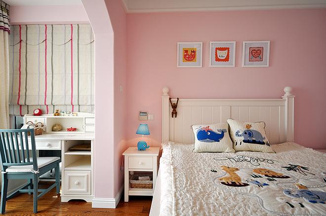 卧室图片来自武汉苹果装饰在卧龙墨水湖边的分享