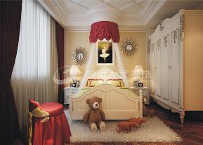 新古典 三居 西安装修 浐灞半岛 白领 儿童房图片来自西安城市人家装饰王凯在新古典主义优雅三居的分享