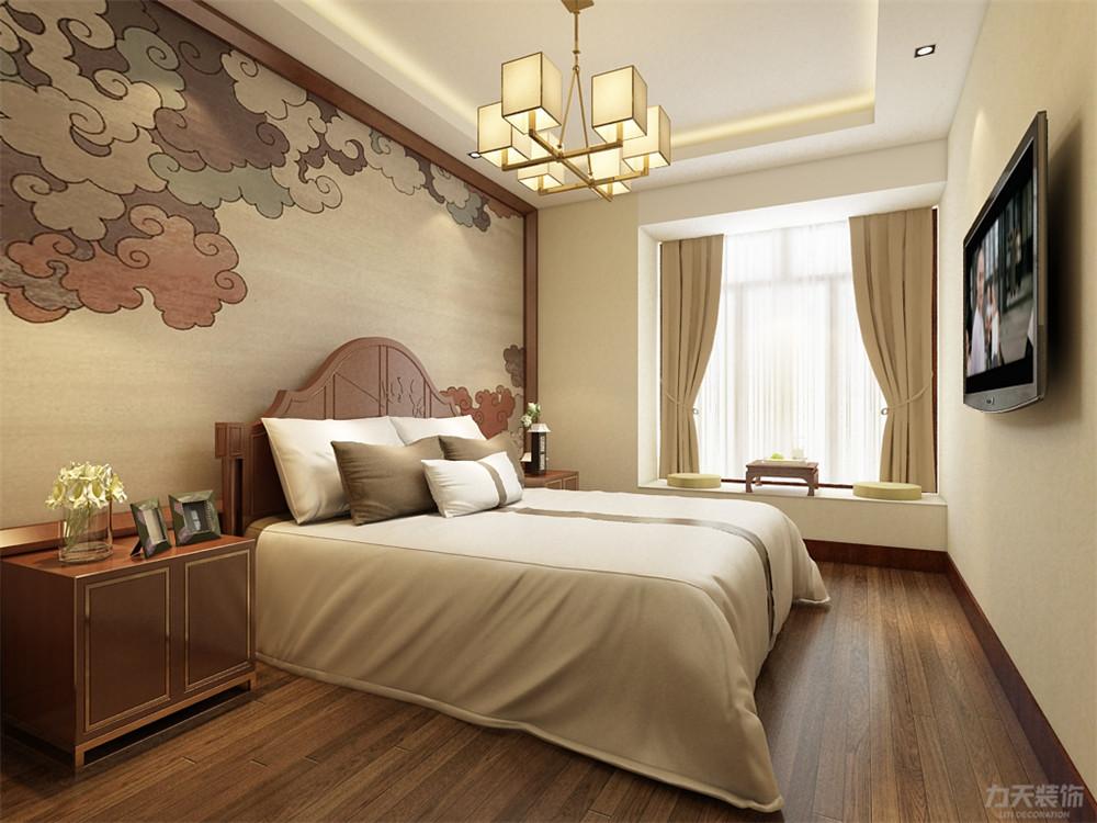 中式 三居 收纳 小资 卧室图片来自阳光放扉er在奥莱城小高层的分享