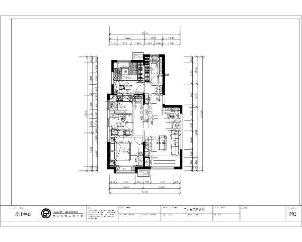 这是一套天津远洋万和城91㎡2室1厅1厨1卫。以入户门为起点的话,首先进入户门的就是客厅,挨着客厅的是主卧室,挨着主卧室的是卫生间,挨着卫生间的是厨房,进入入户右手边挨着次卧的是衣帽间。