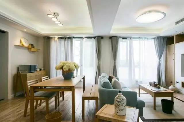 简约 日式风格 三居 餐厅图片来自实创装饰上海公司在好美的94平日式三居的分享
