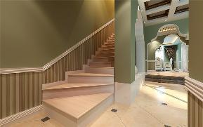 简约 美式 混搭 白领 80后 旧房改造 楼梯图片来自成都上舍居装饰在华宇天府花城装修的分享