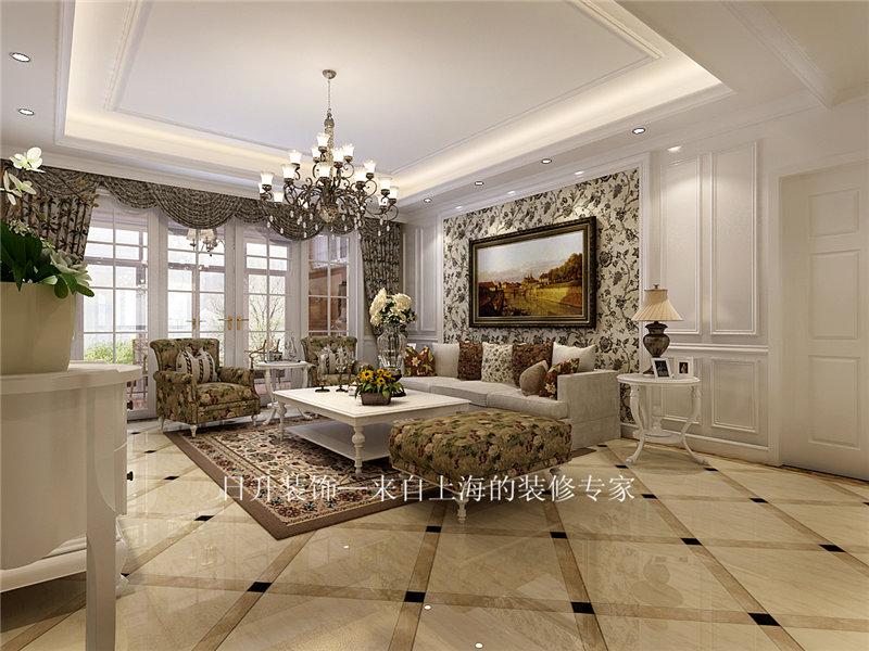 简约 欧式 田园 混搭 三居 别墅 旧房改造 小资 客厅图片来自日升装饰秋红在紫薇永和坊简欧风格的分享
