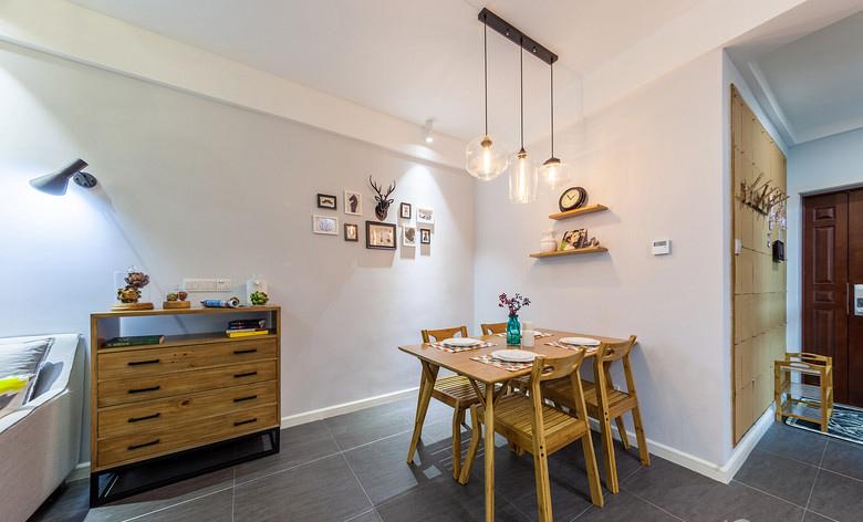餐厅图片来自家装大管家在唯美纯净 88平北欧风情时尚空间的分享