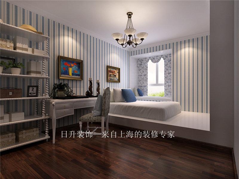 简约 欧式 田园 混搭 三居 别墅 旧房改造 小资 卧室图片来自日升装饰秋红在紫薇永和坊简欧风格的分享