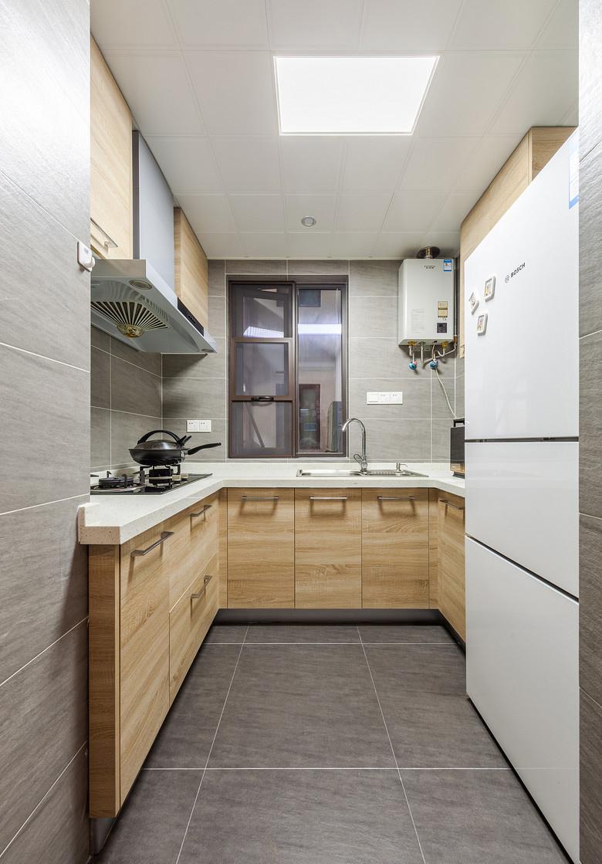 厨房图片来自家装大管家在唯美纯净 88平北欧风情时尚空间的分享