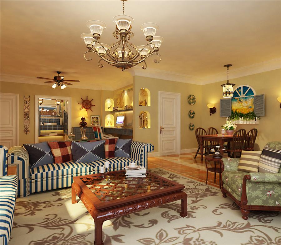 田园 三居 80后 白领 小资 别墅 客厅图片来自成都上舍居装饰在人居紫云庭田园风格装修案例的分享