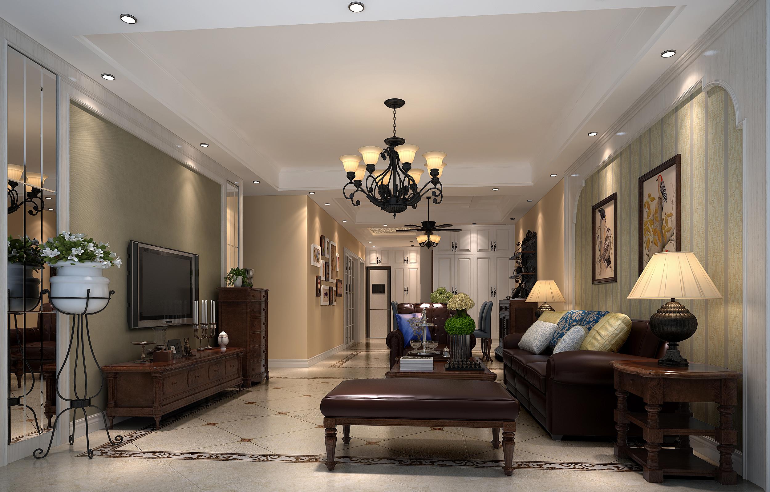 客厅图片来自深圳市尚易装饰在城市明珠的分享
