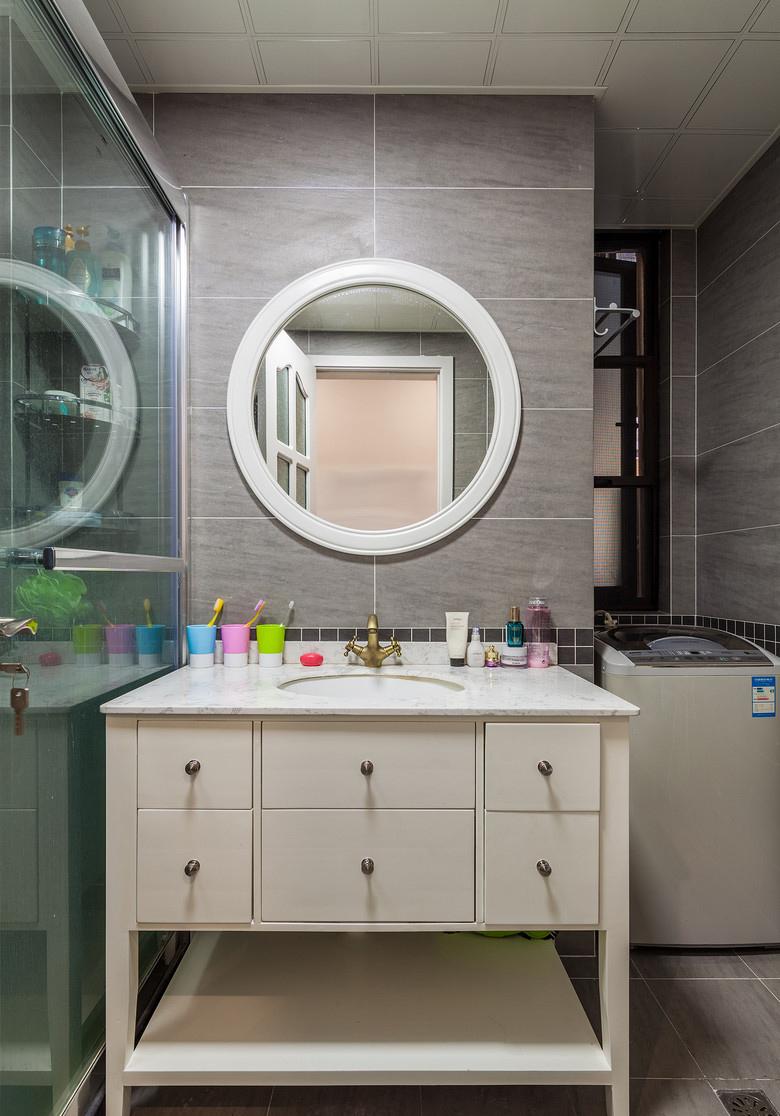 卫生间图片来自家装大管家在唯美纯净 88平北欧风情时尚空间的分享