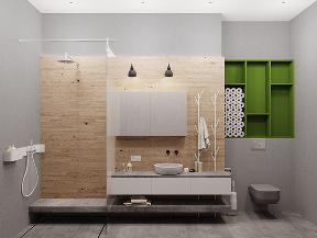 简约 欧式 北欧 混搭 二居 收纳 80后 小资 设计 卫生间图片来自翼森设计在翼森北欧·色彩的跳动的分享