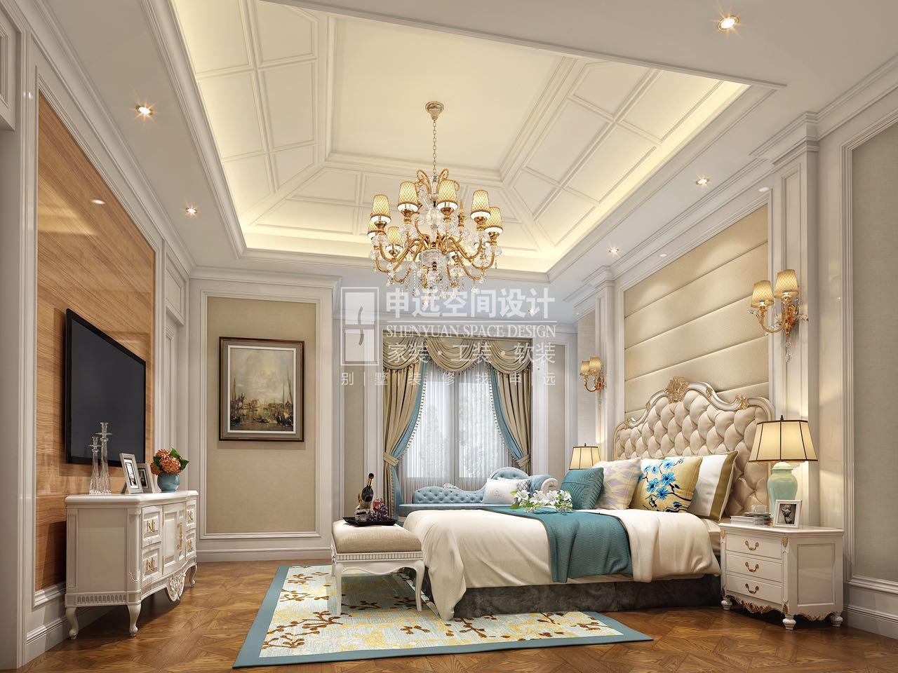 卧室图片来自申远-小申在长泰西郊 300平 中欧混搭的分享