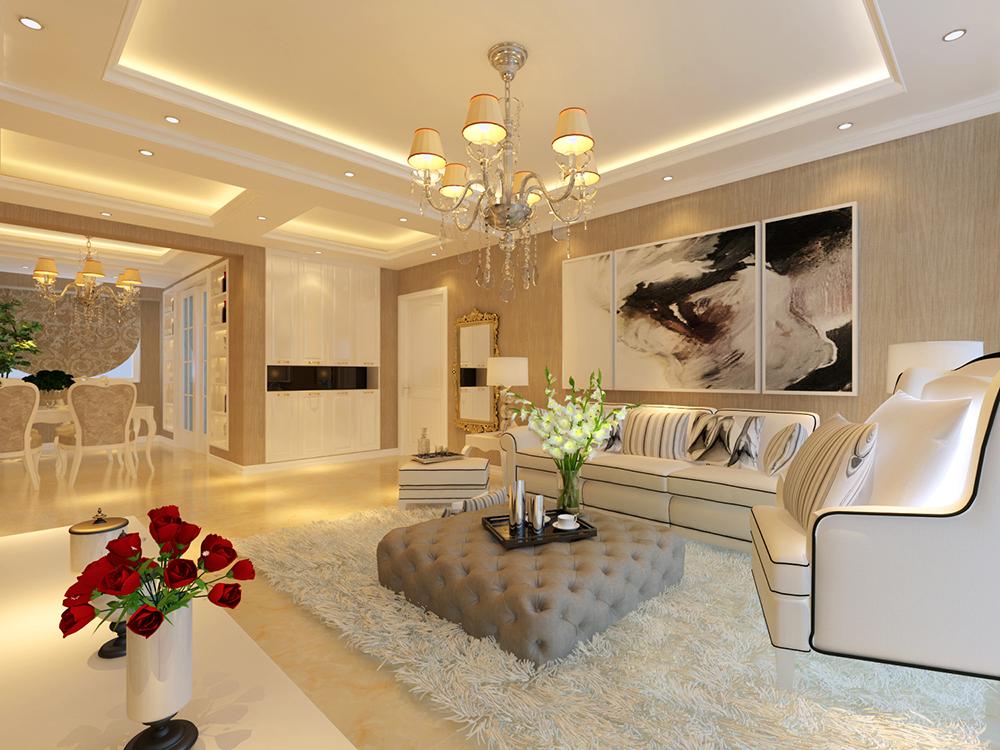欧式 二居 客厅图片来自tjsczs88在温馨简雅简欧式的分享