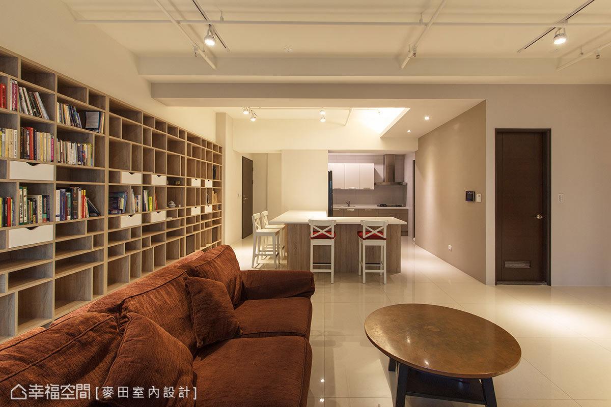 三居 休闲 简约 收纳 客厅图片来自幸福空间在客厅没电视的休闲风格宅的分享