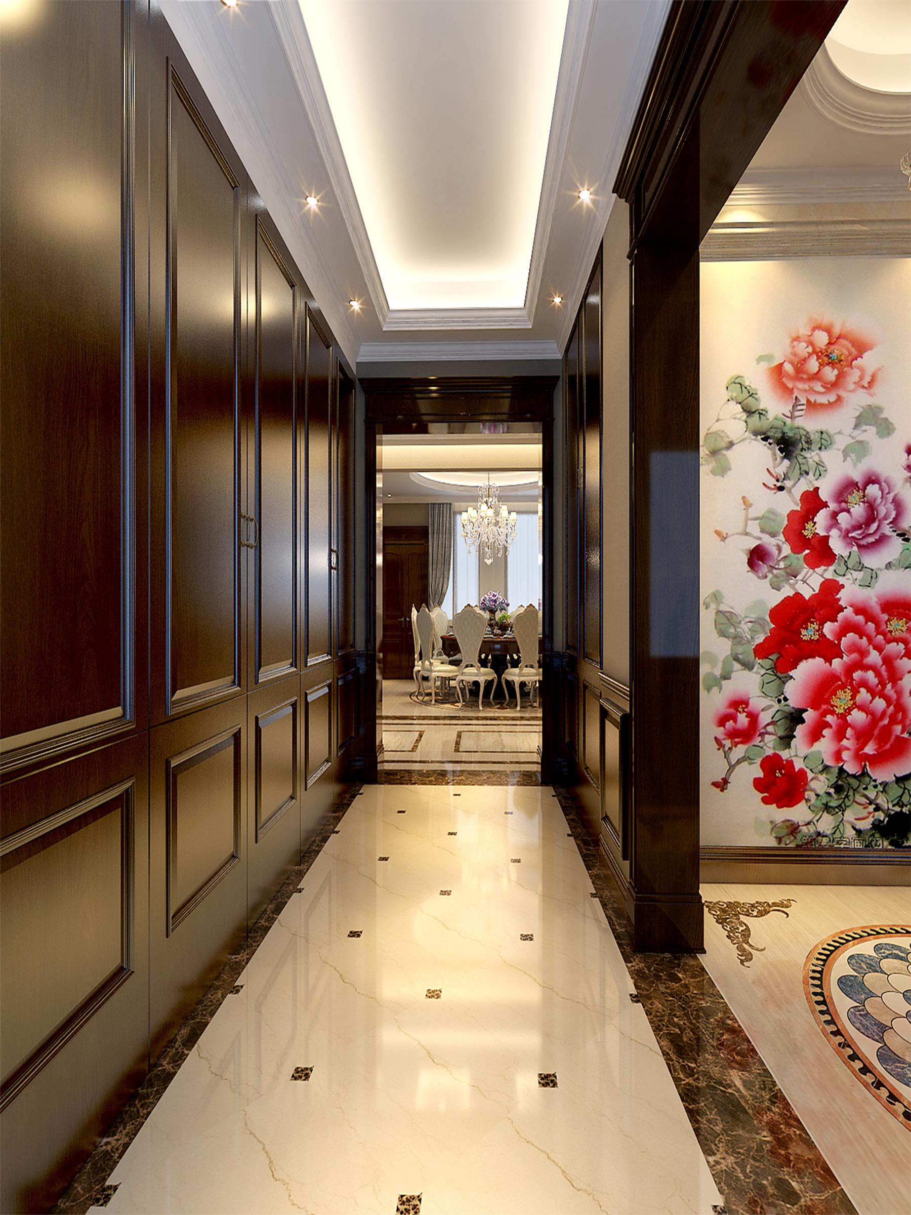 其他图片来自业之峰装饰旗舰店在欧式小洋房的分享