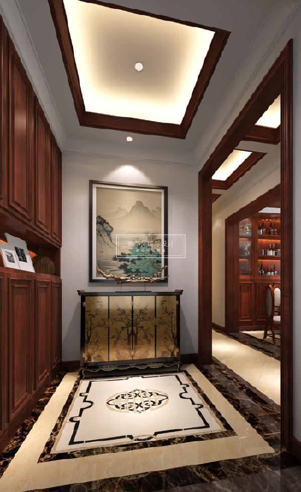 成都紫苹果装饰  别墅300平米 美式风格 咨询:18228939660