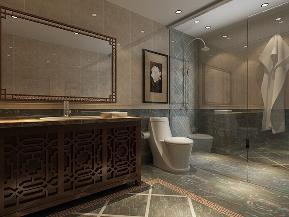中式 四室 四居 收纳 小资 卫生间图片来自阳光力天装饰在中式风格-汇贤里 210㎡的分享