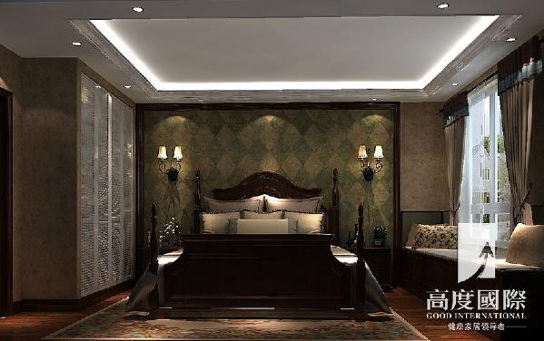 哥谭—托斯卡纳风格—成都高度国际装饰设计---卧室