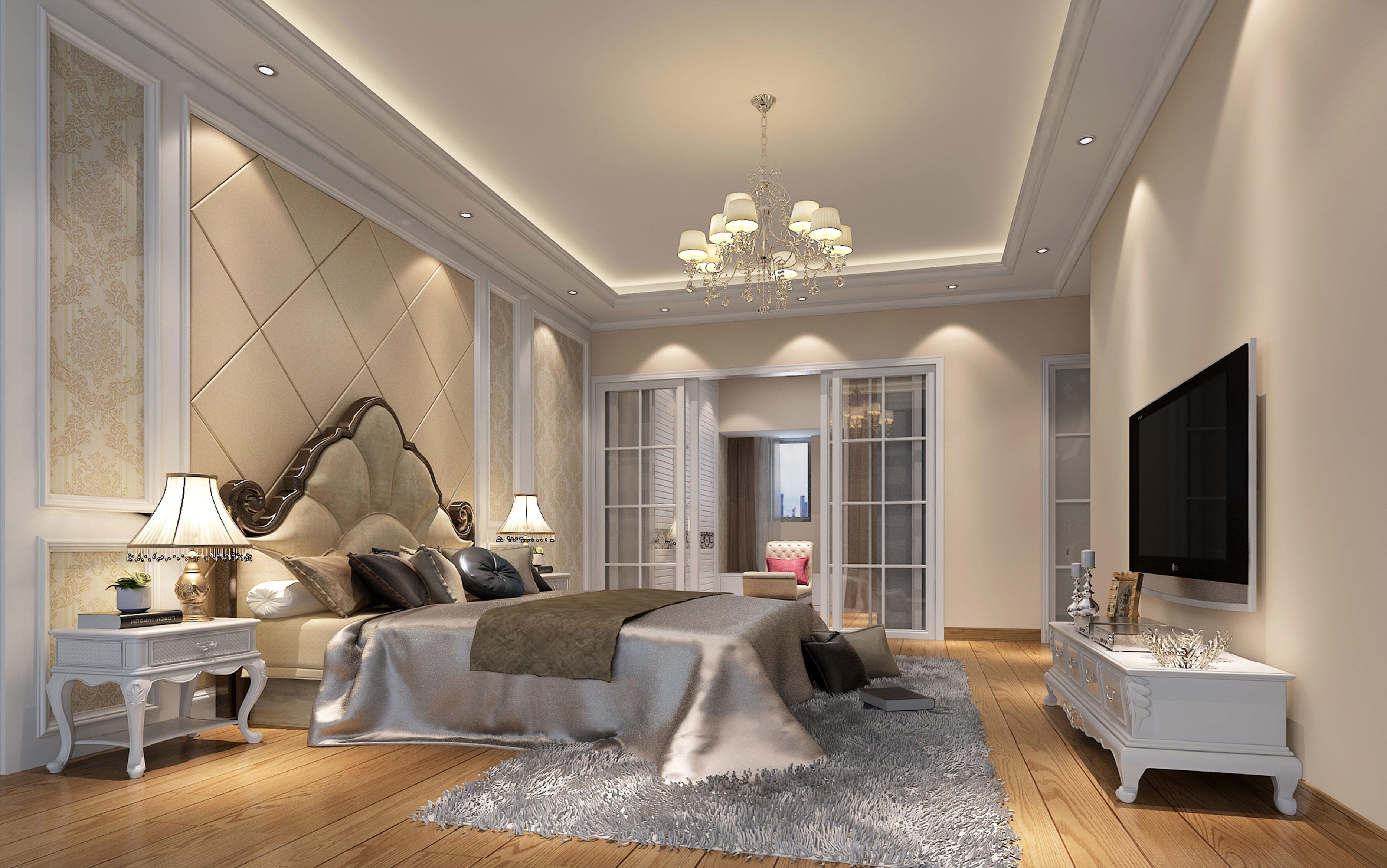 欧式 三居 卧室图片来自深圳市尚易装饰在松茂御龙湾 欧式温馨居家 三居的分享