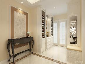 新古典 四室 收纳 小资 玄关图片来自阳光力天装饰在新古典主义 金隅悦城 144㎡的分享