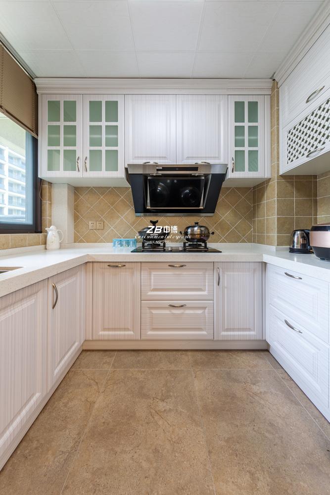 美式 三居 环保 温馨 厨房图片来自中博装饰在德清英溪桃园135方现代美式风的分享