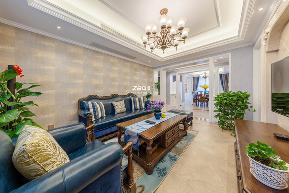 美式 三居 环保 温馨 客厅图片来自中博装饰在德清英溪桃园135方现代美式风的分享