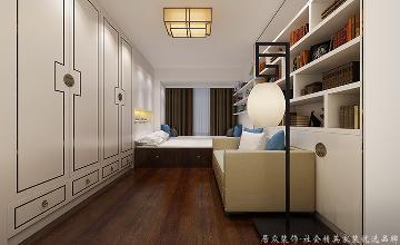 联发欣悦湾-中式风格-140㎡