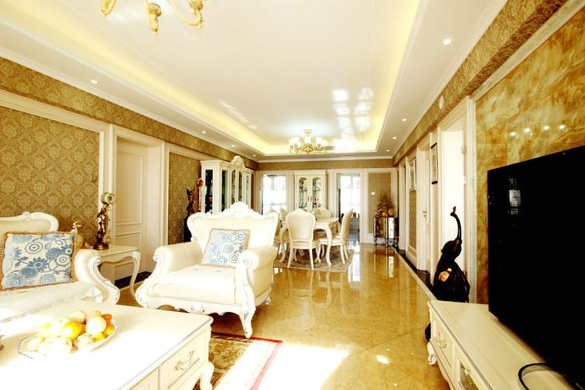 欧式 二居 客厅图片来自成都天伦美装饰在欧式的分享