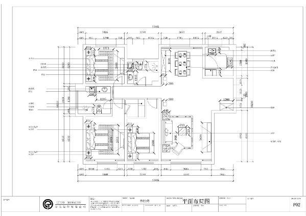 此户型是天津鲁能公馆A户型187.00㎡,3室2厅2卫1厨。户型布局规整,房间功能区域划分合理,整体分布合理。