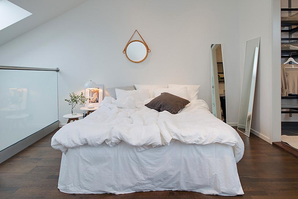 华贸城 简约 北欧 复式 卧室图片来自别墅设计师杨洋在充满阳光的迷人复式公寓的分享