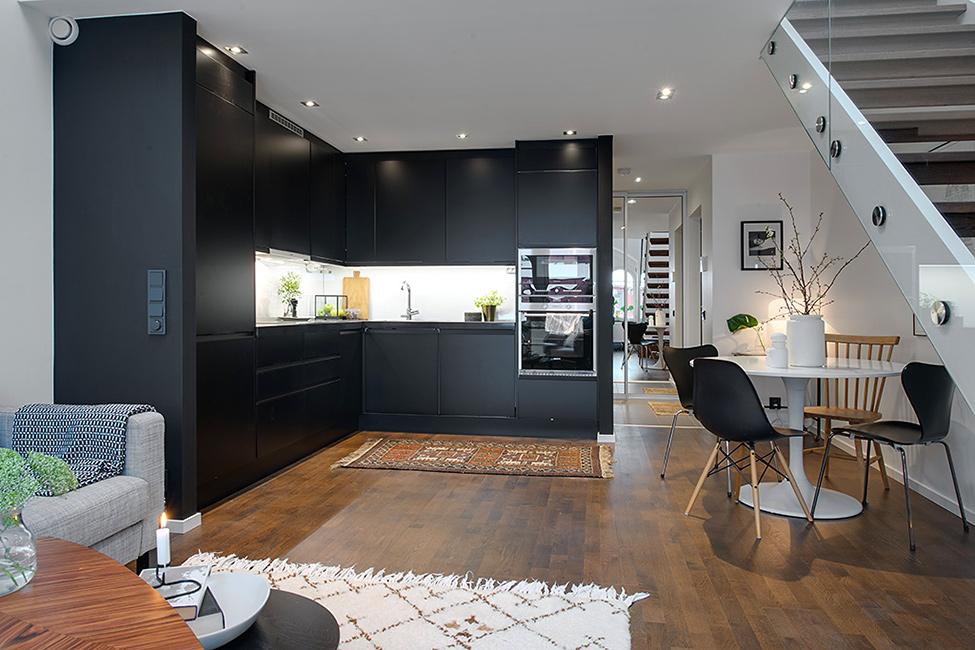 华贸城 简约 北欧 复式 餐厅图片来自别墅设计师杨洋在充满阳光的迷人复式公寓的分享